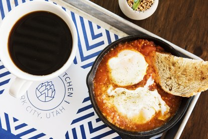 aamiainen shakshuka park city vessel kitchen