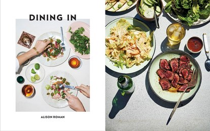 alison roman dining in cookbook