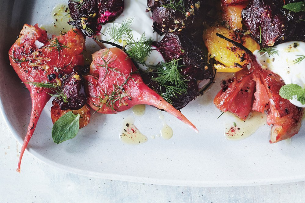 מרוסקת Beets with Lemon Vinaigrette