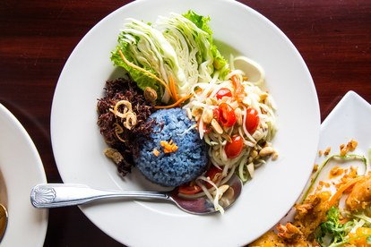 lootus OF SIAM vegas restaurant blue rice 2
