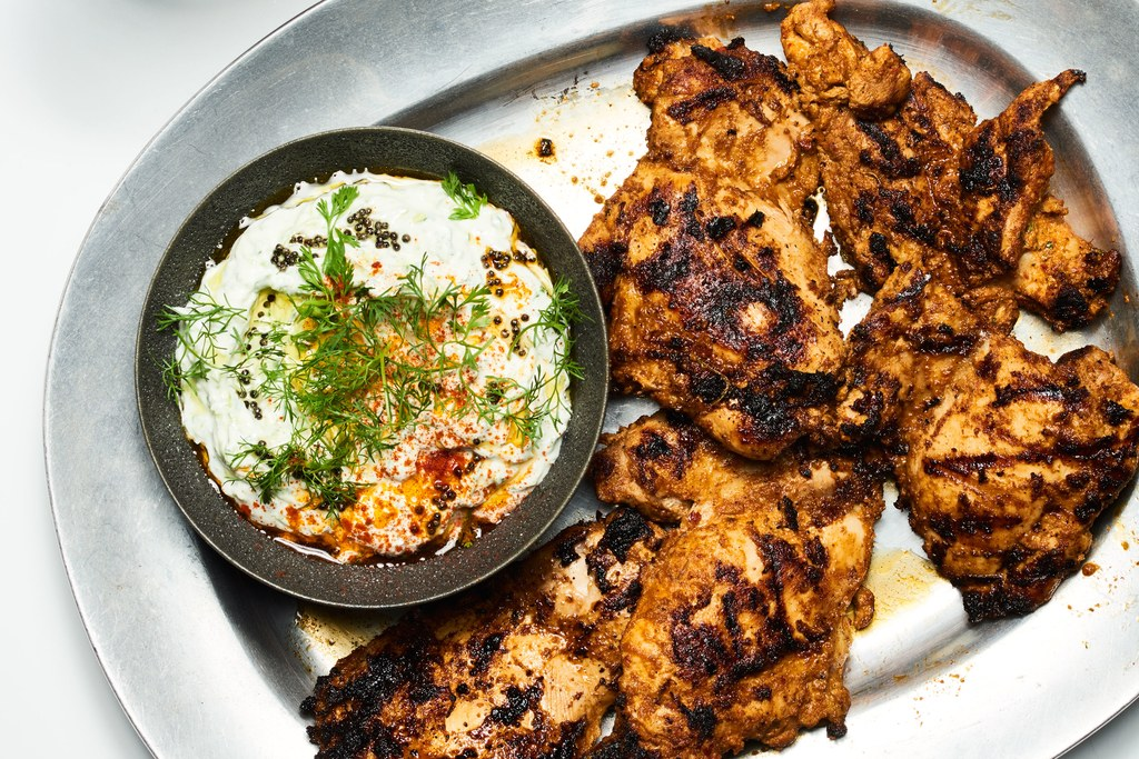Chile-og-yoghurt-Marinerede Grilled Chicken