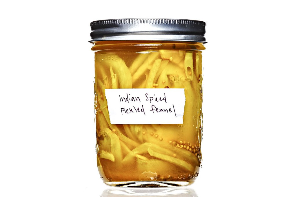 Indisk krydret Fennel Pickles