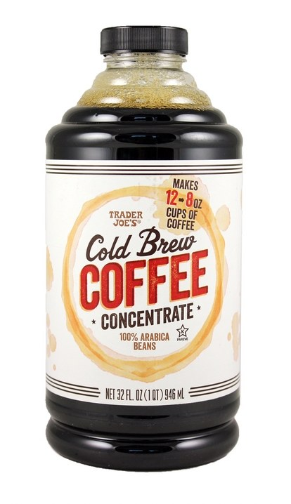 סוחר joes cold brew coffee