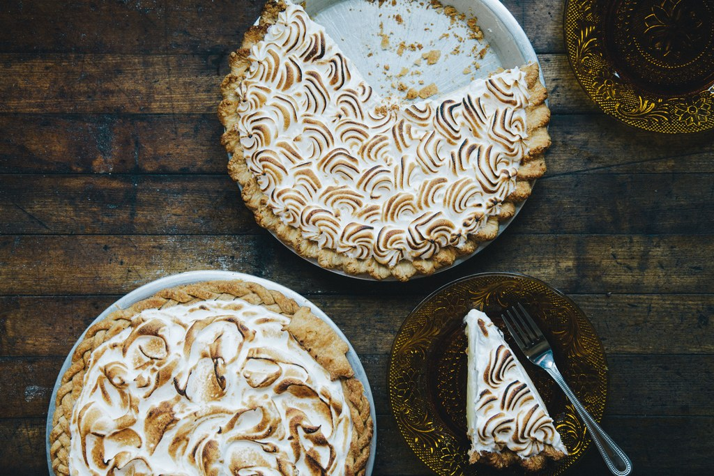 Zitrone Meringue Pie