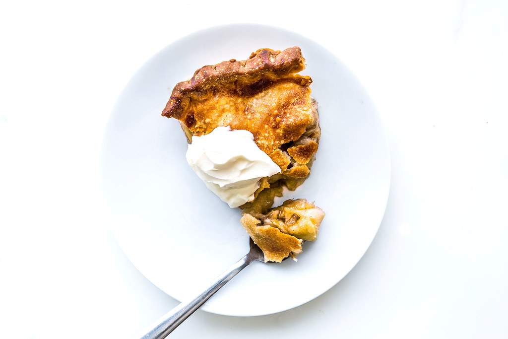 Apple-Brown Sugar Pie