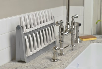 plný circle dish rack sink