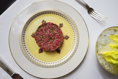 Steak and Anchovy Tartare The Grill